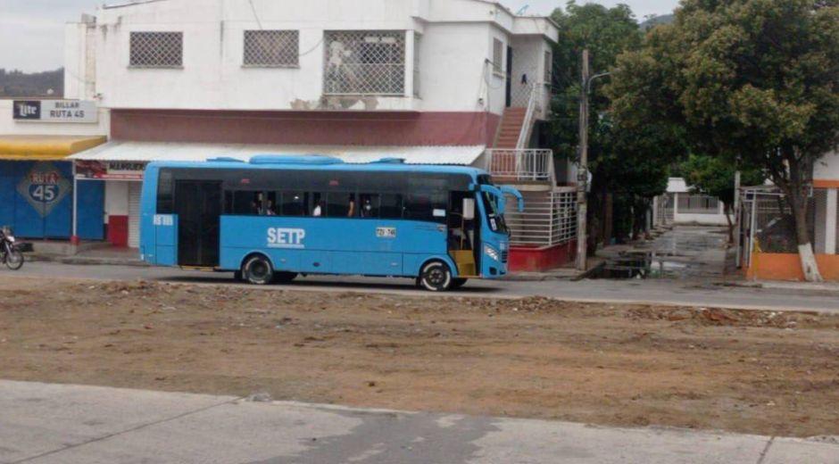 Imagen de referencia - buses en Santa Marta.