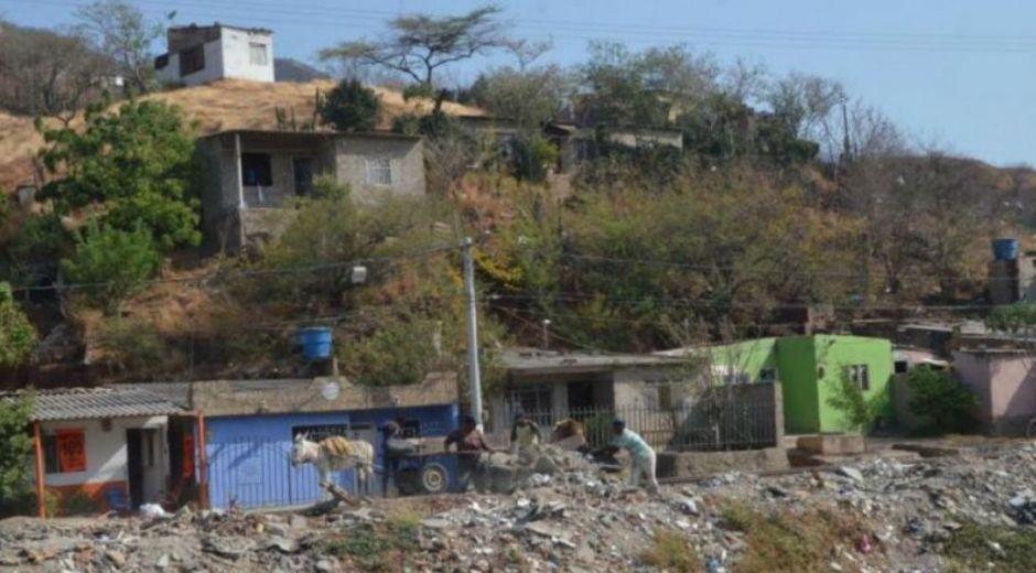 Pobreza y hambre en Santa Marta.