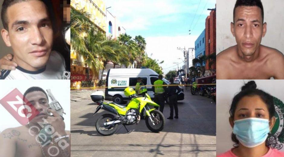'Tommy masacre', 'Caracas', 'Yefri' y 'Patricia'.