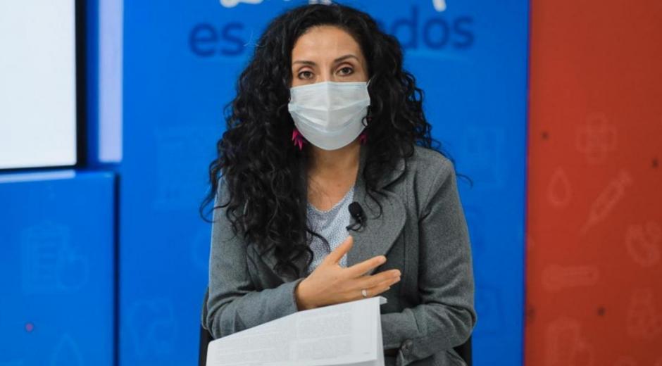 Nubia Bautista, subdirectora de Enfermedades No Transmisibles.