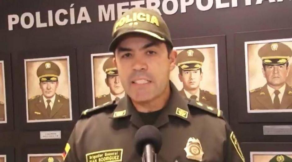 Brigadier General Juan Carlos Rodríguez.