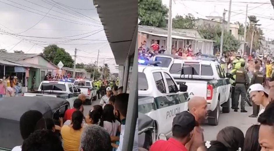 La balacera se presentó en el municipio de Malambo.