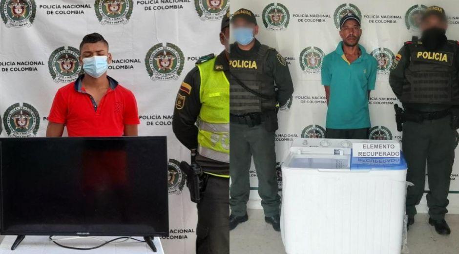 Deymer Davido Venegas Camargo y Ricardo Antonio Narváez Castro.