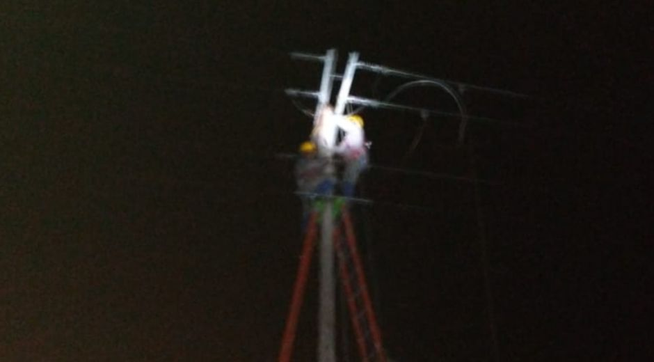 Robo de cable afectó servicio en Concordia y zona rural de Cerro San Antonio.