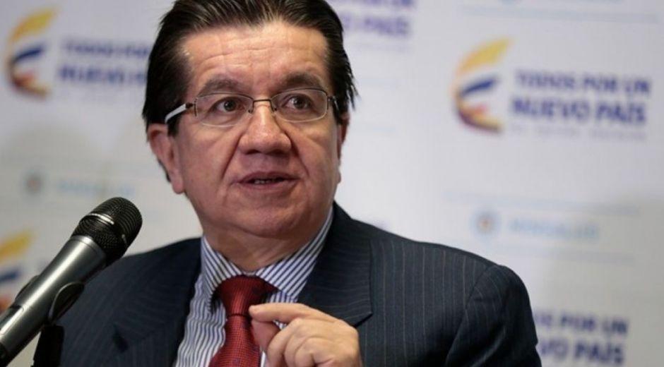 Ministro de Salud, Fernando Ruiz.