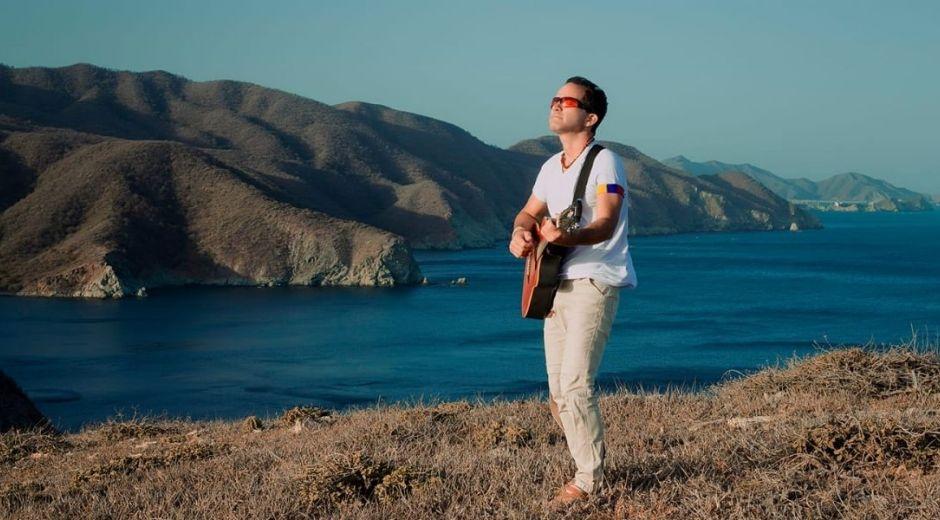 Miguel Escaff es cantante, compositor y productor samario