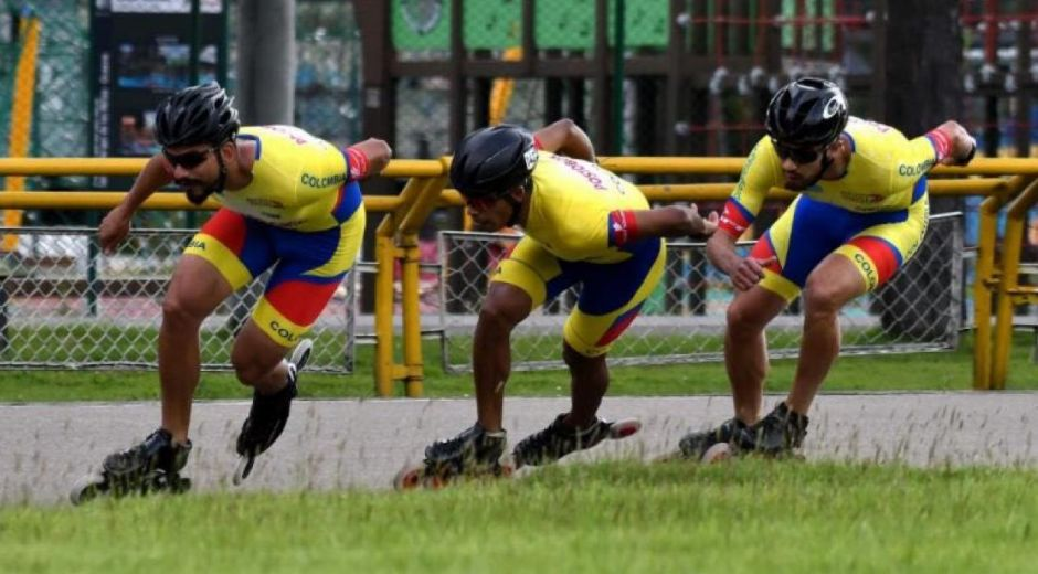Selección Colombia de Patinaje.