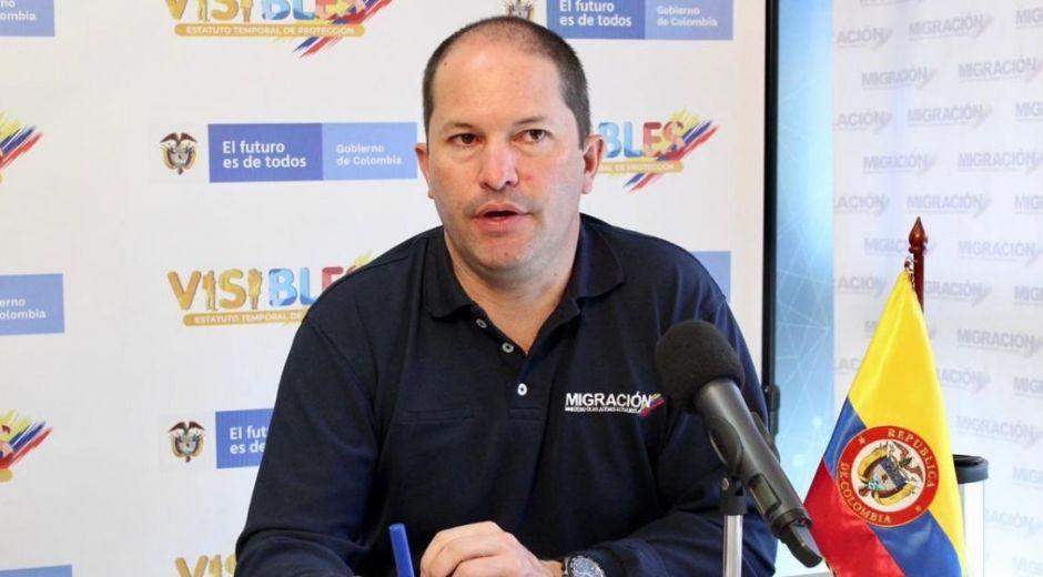 Juan Francisco Espinosa Palacios, Director General de Migración Colombia
