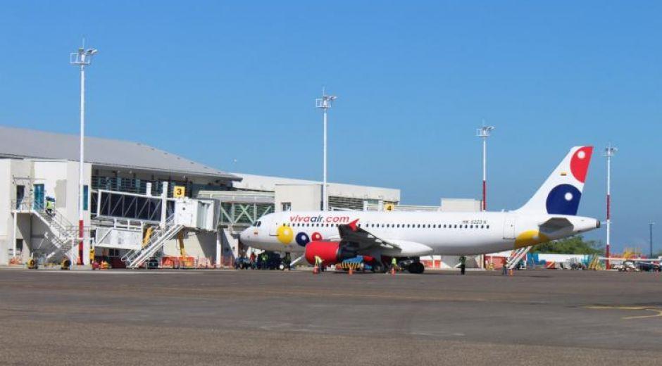 Es la segunda vez en los últimos 3 años, que un pasajero amenaza con una bomba desde Viva Air en Santa Marta.