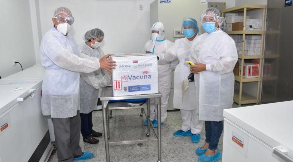 La ciudad ya tiene un nuevo lote de vacunas de Moderna para continuar con primeras dosis.