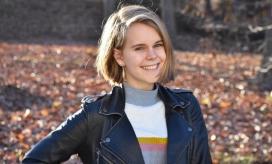 La universitaria Tessa Majors.