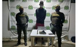 El atracador fue identificado como Cristian Jesús Araujo  Díaz