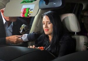 La única mujer que sobrevivió al accidente del vuelo de la aerolínea Lamia, la azafata boliviana Ximena Suárez.