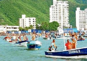 Actividades realizadas durante las Fiestas del Mar de Santa Marta.