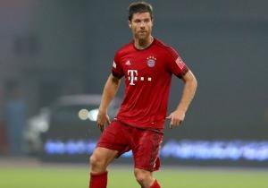 Xabi Alonso, jugador del Bayern.