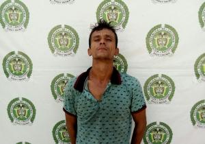 Alexander Rojas Sánchez, detenido tras el crimen del abogado en Pescaíto.