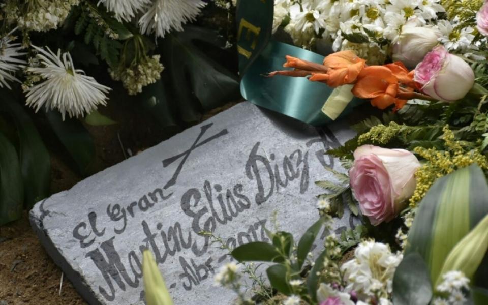 En el cementerio Jardines del Ecce Homo descansa el joven artista.