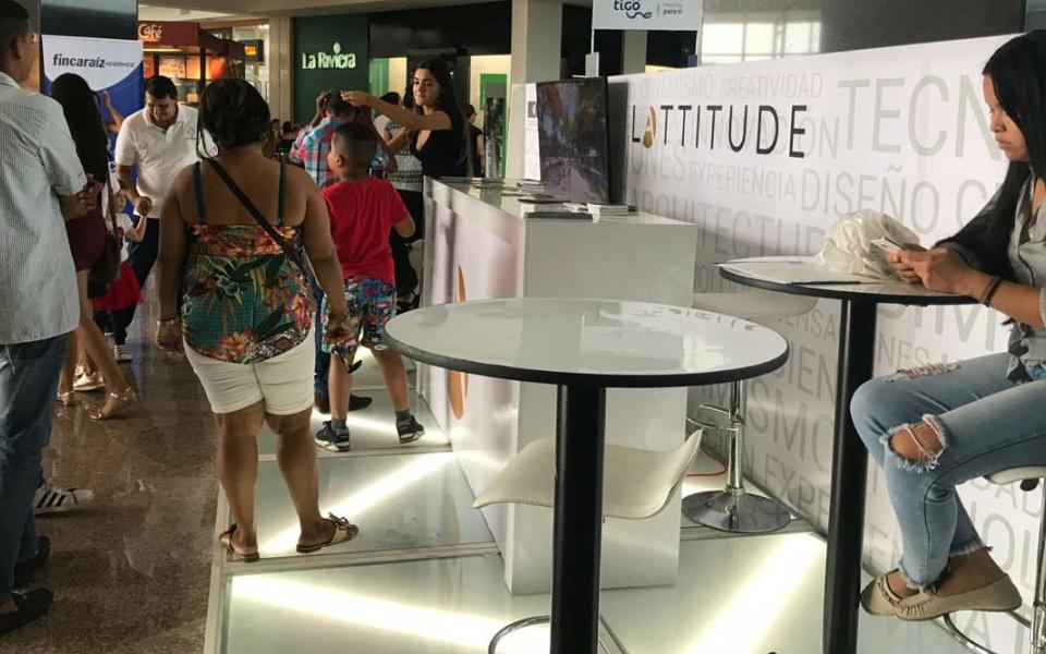 Una de las novedades de esta feria ha sido el proyecto de Latitude.