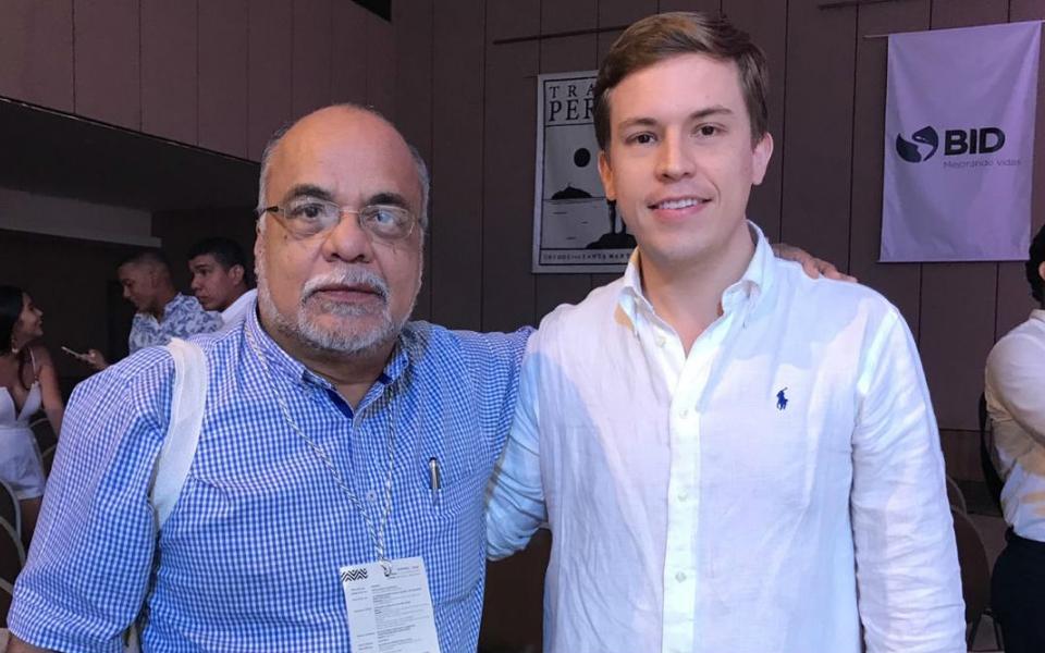 José Miguel Berdugo y Eduardo Campo