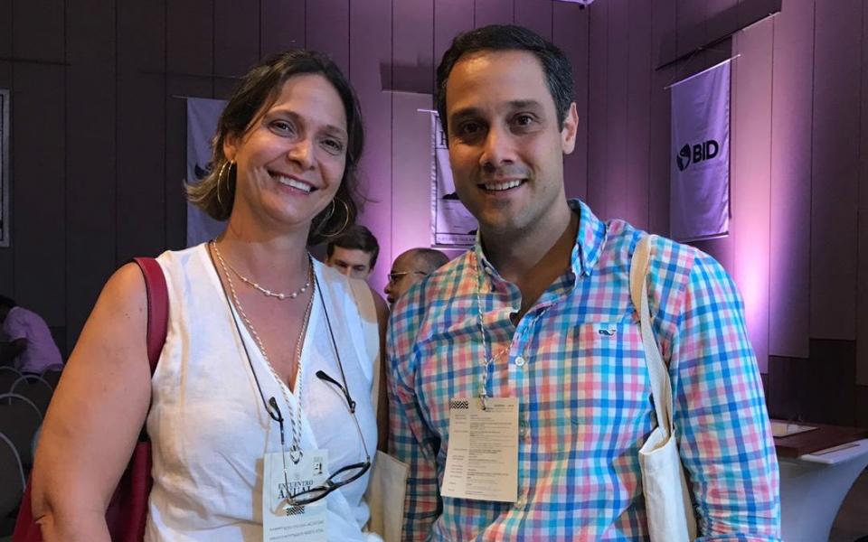 Rosa y Alberto Lacouture