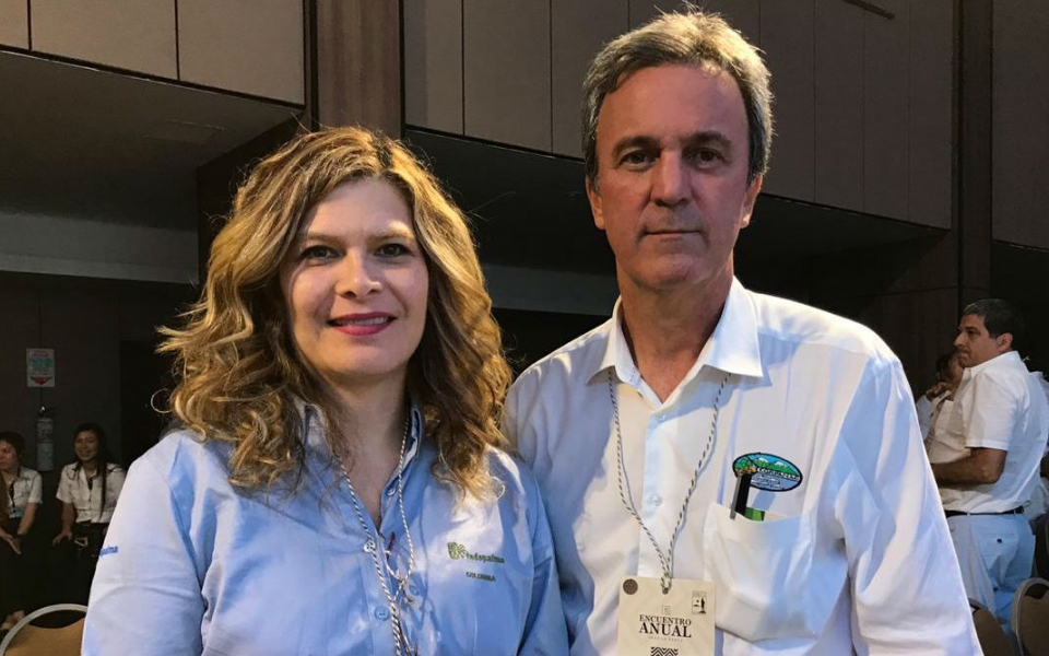 Patricia Díaz y Carlos Francisco Diazgranados