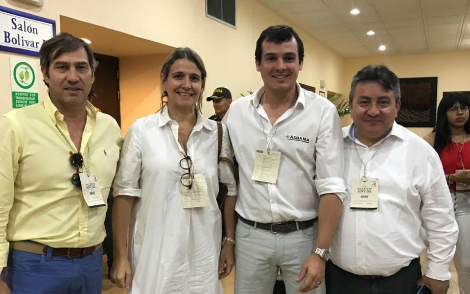 Omar García, José Francisco Zúñiga, Claudia Dávila y Simón Solano
