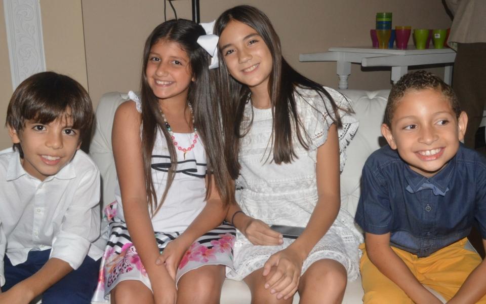 Mauricio Arrieta, Jorge Agudelo, Ana María Martínez y Valentina Soto