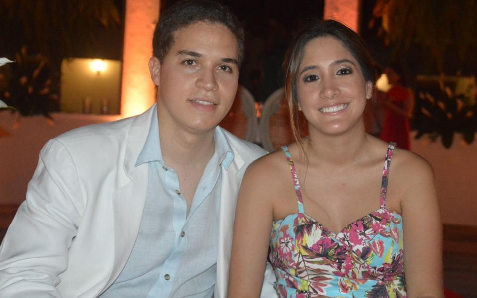 Catalina Reyes y Santiago Diaz Granados