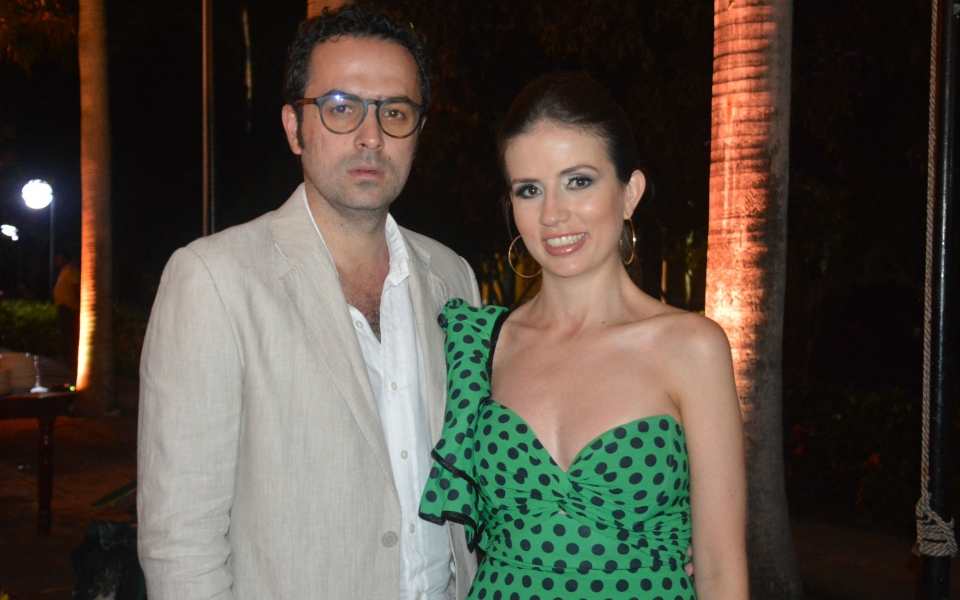 Sergio Arbeláez y María Paz Uribe