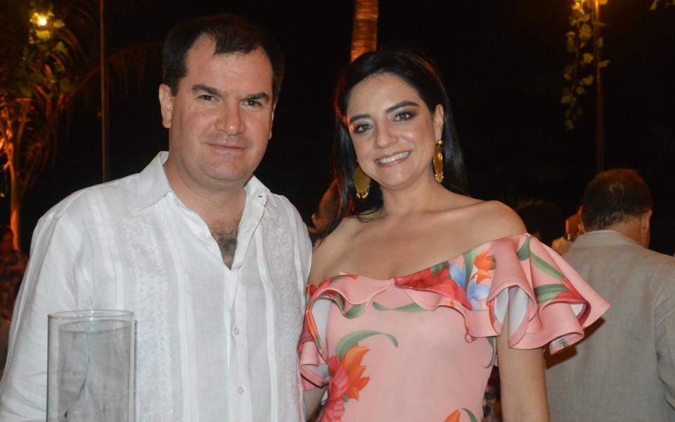 María Claudia Escandón y Mauricio Posada