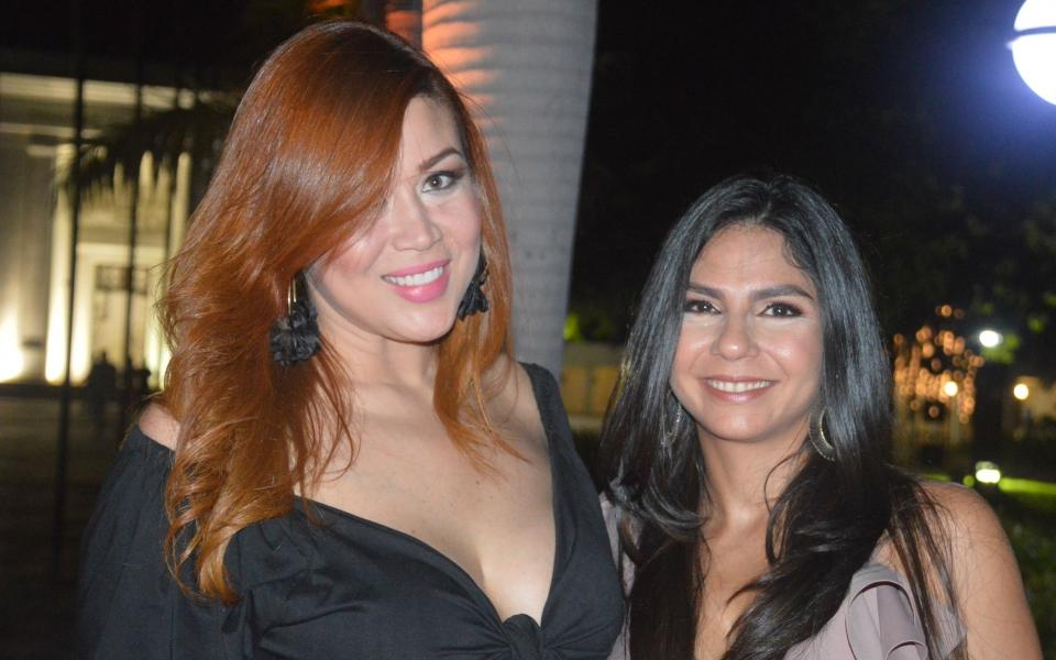 María Angélica Morales y Laura Sierra
