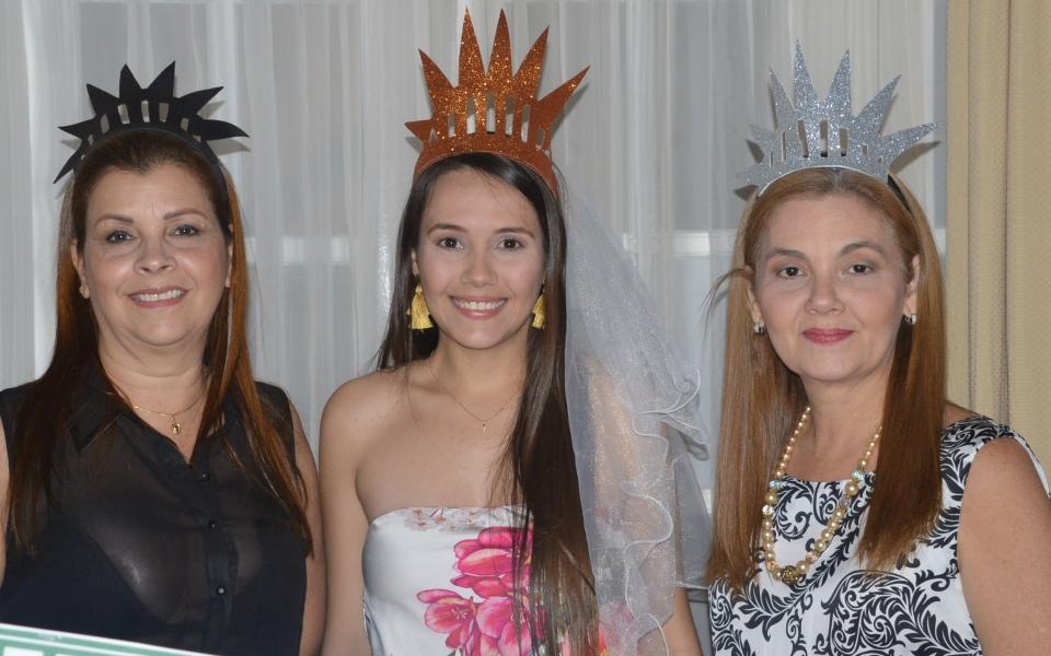Marta Caballero, Ana Karina Campo y Sara Vergara