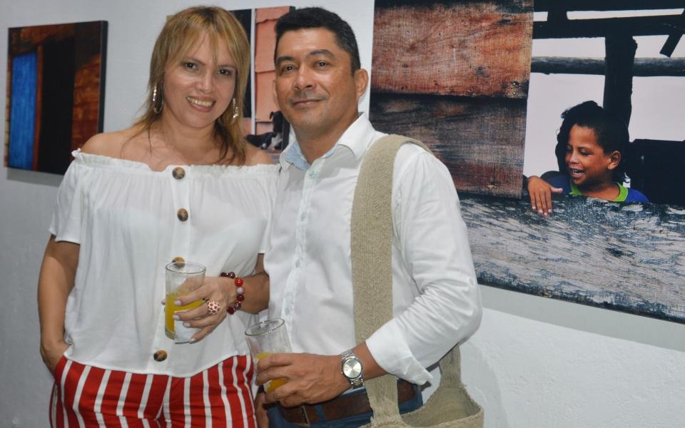 Claudia Díaz y Gustavo Arrieta