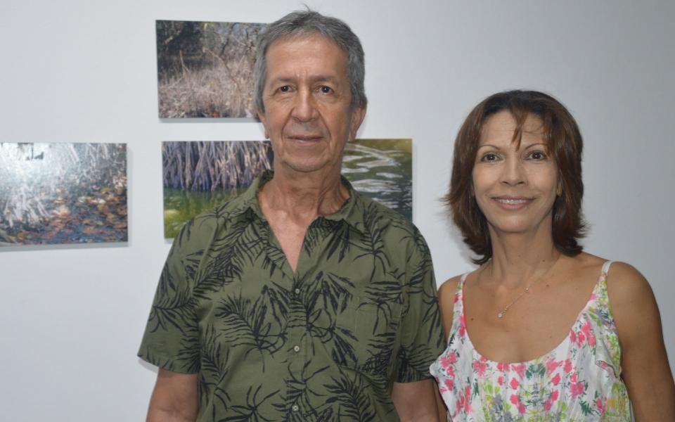 José Cadavid y Leticia Montoya
