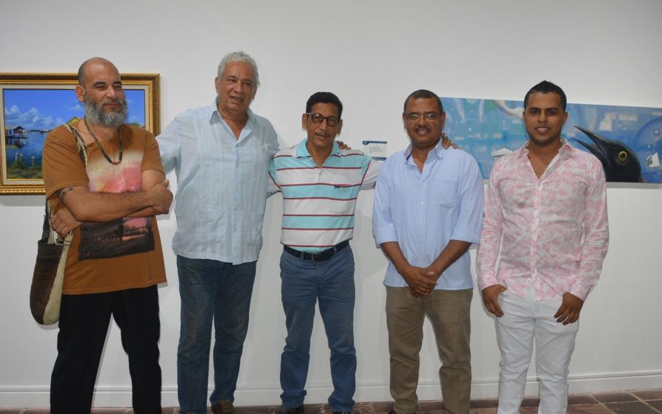 Jhon Quintero, Ángel Almendrales, Carlos Suárez, Wilmer Martínez y Diego Ballestas