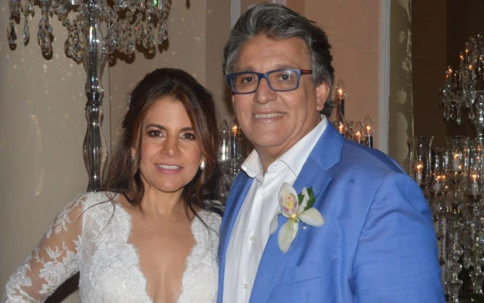 Jorge Saade y Silvia Lety