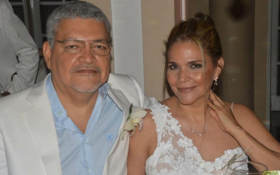 Hipólito Palencia y Liliana López