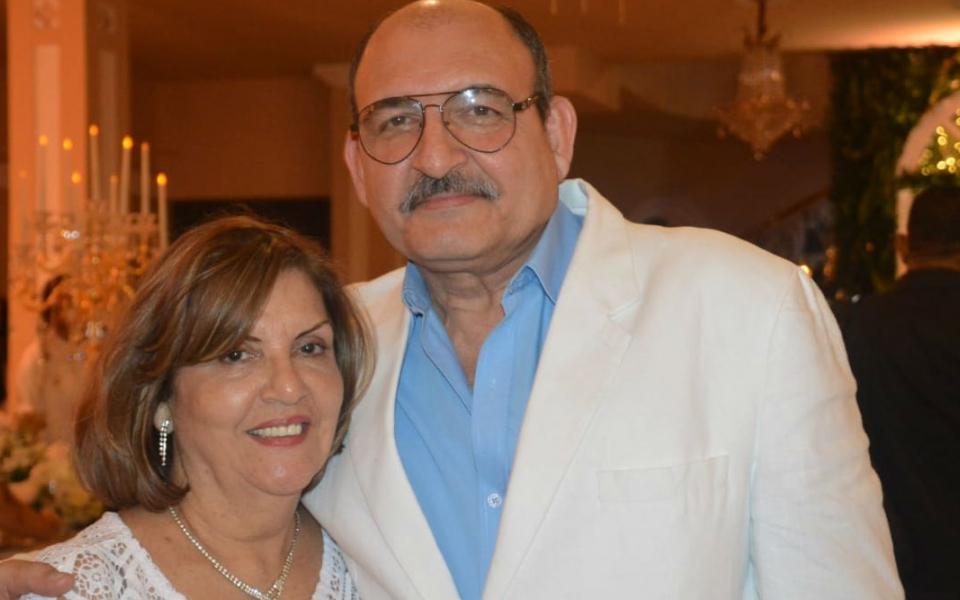 Álvaro Saade y Carmen de Saade