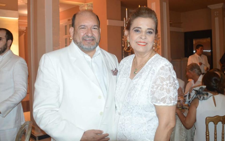 María Cotes y Jairo Saade