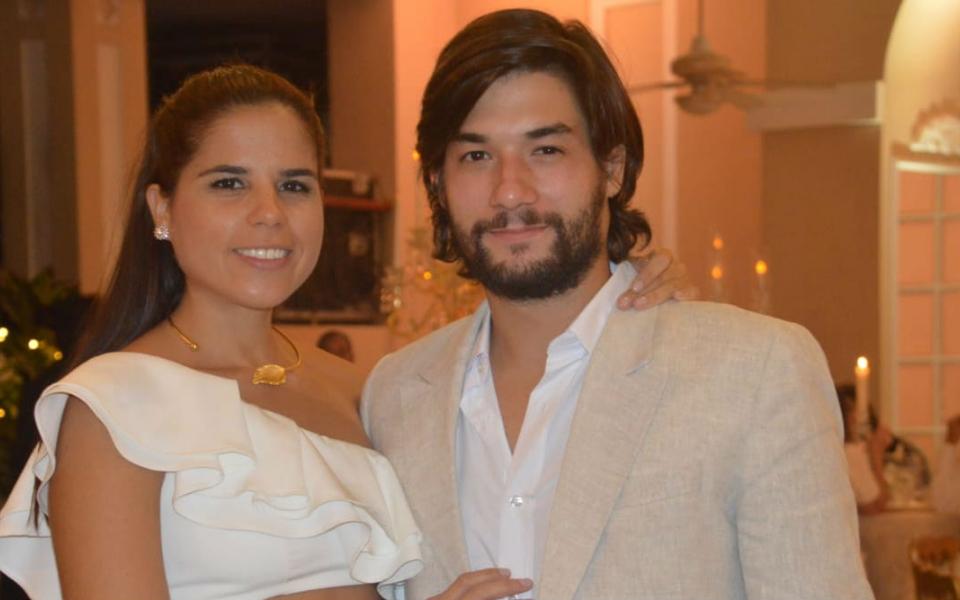 David Stochelin y Amelia Restrepo