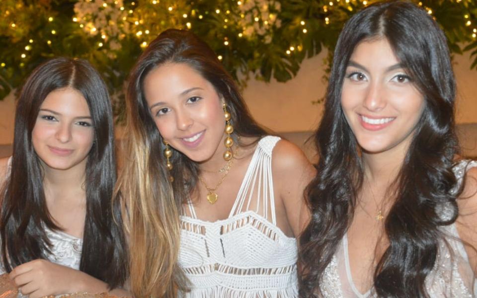 Celina Daza, Marianella Hoyos y Nina Toro