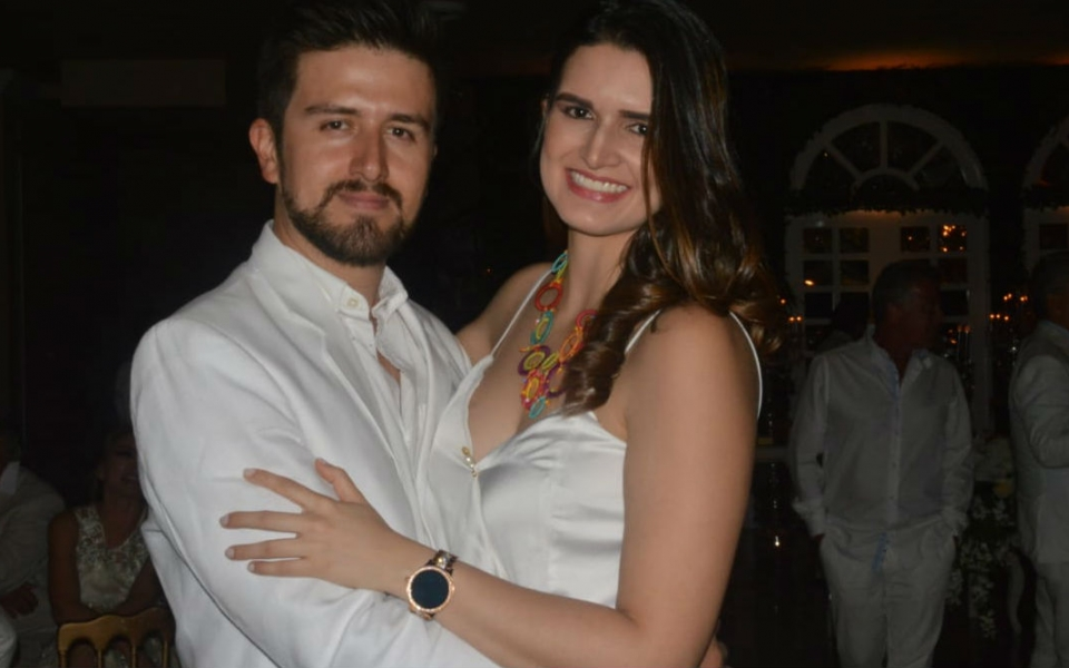 Andrés González y María del Pilar Saade