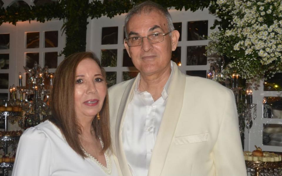 Luz Marina Arzuaga y Alfonso Herrera