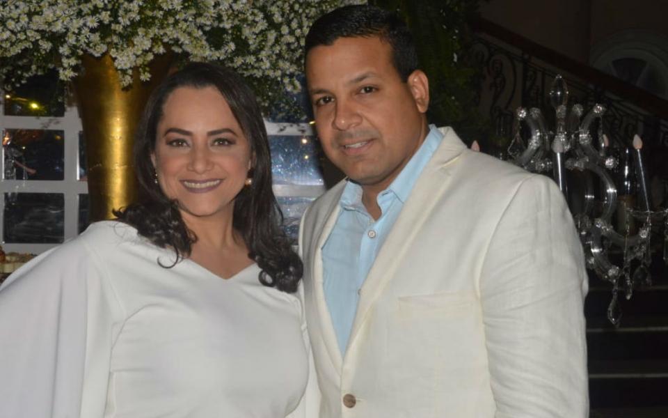Julio Saade y Milena de Saade