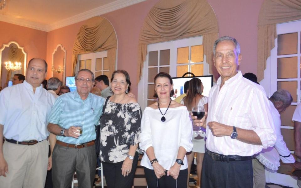 Juan Carlos Abello, Jorge Mogollón, Marta de Andréis Mogollón, María Cristina Abello y Víctor Abello Lacouture.