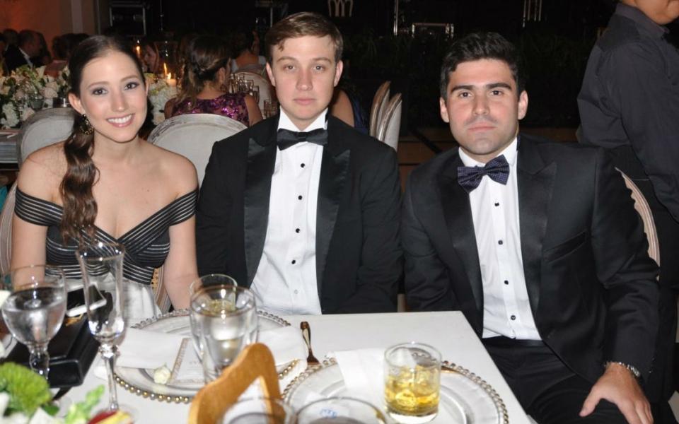 Juliana Díaz Granados, Felipe Solano y Camilo Vives.