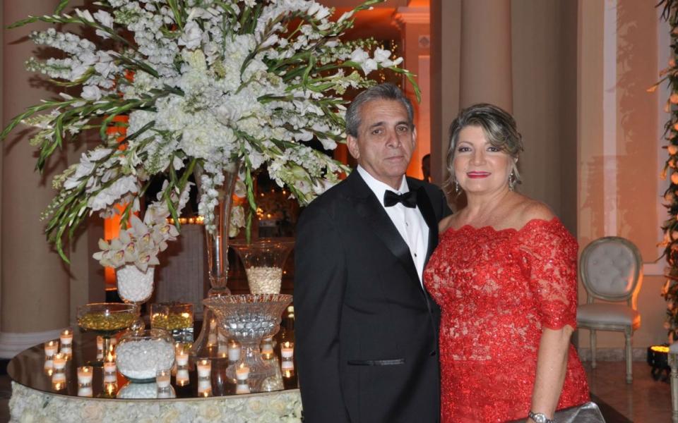 Edgardo Gutiérrez Piñeres y Maruja De Piñeres.
