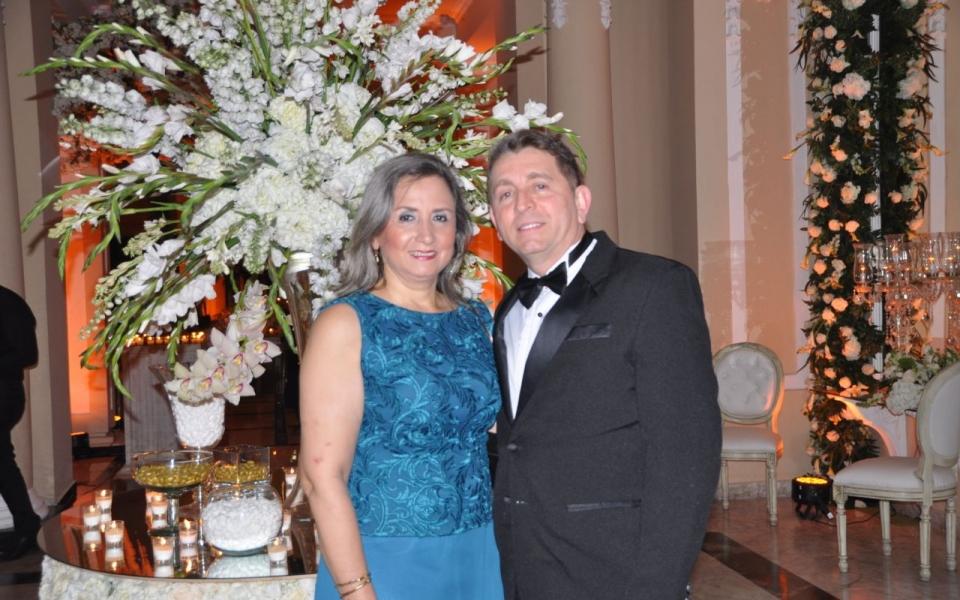Raúl Arenas y Luz Inés Campo.