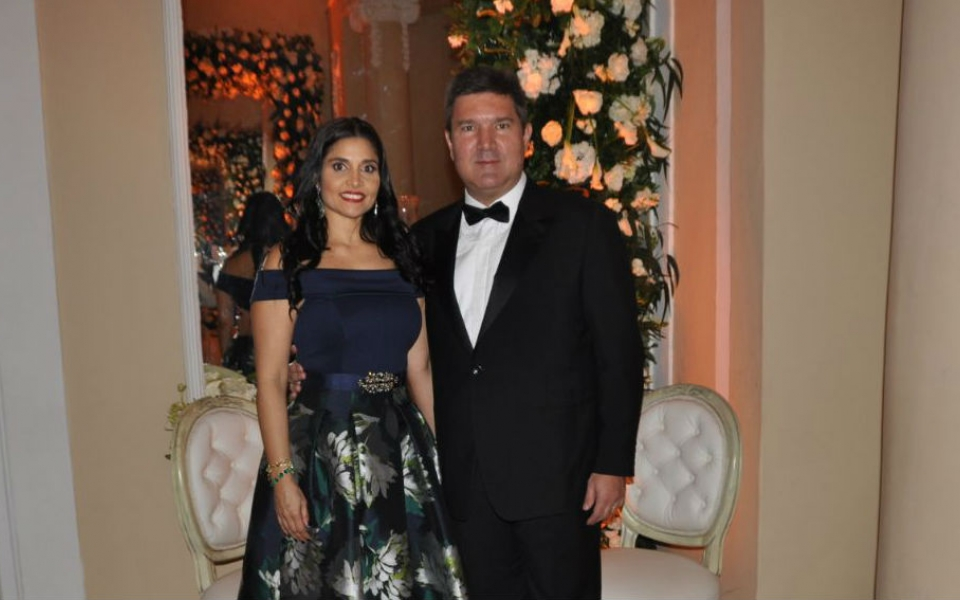 Eduardo Díaz Granados y Paola Mattos.