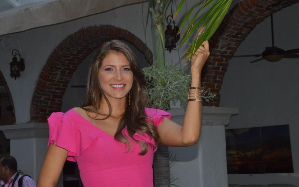 Angie Quintero Álvarez, candidata a señorita Magdalena.